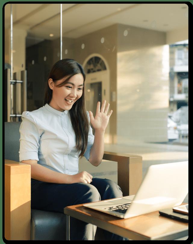 woman-waving-laptop